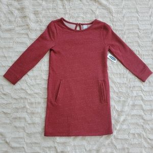 New Old Navy Dress Sparkle Red Dress w/Pockets